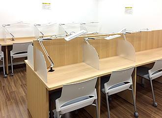 学習室の写真